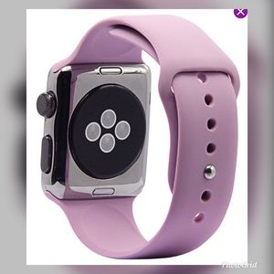 Accessories - Apple Watch Lavender Silicone Sport Band